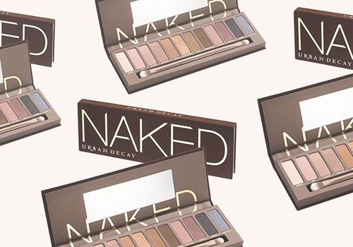 compilation of urban decay naked palettes