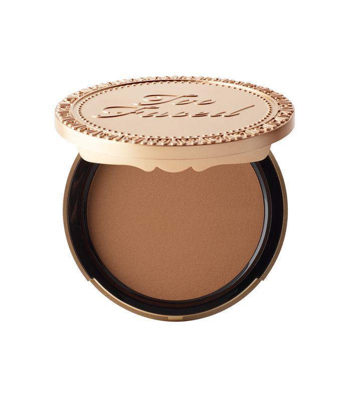 best bronzer: Too Faced Chocolate Soleil Matte bronzer