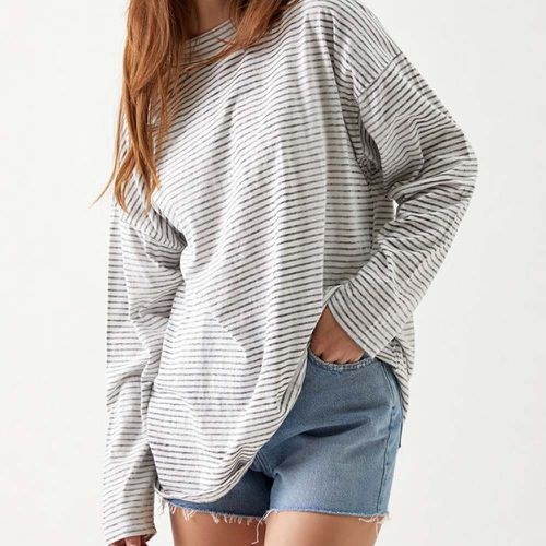 Be The Free Stripe Long Sleeve Top ($58)