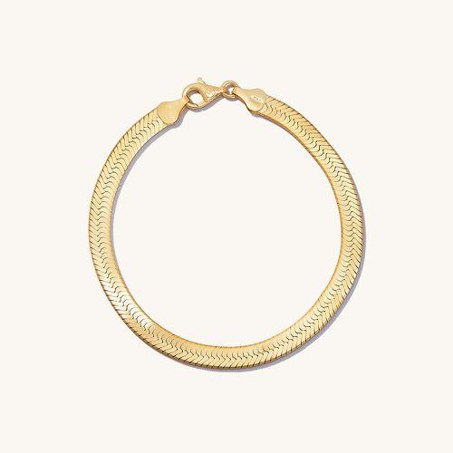Bold Herringbone Chain Bracelet ($100)