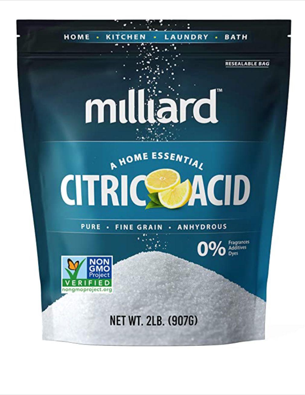 Milliard citric acid