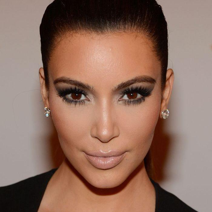 Kim Kardashian Makeup Looks, 2012