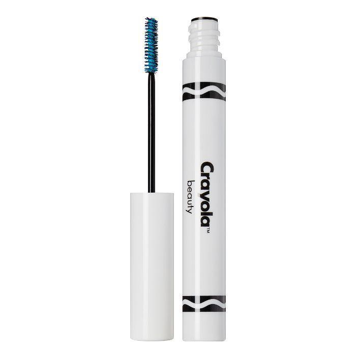 Crayola Mascara in Turquoise Blue