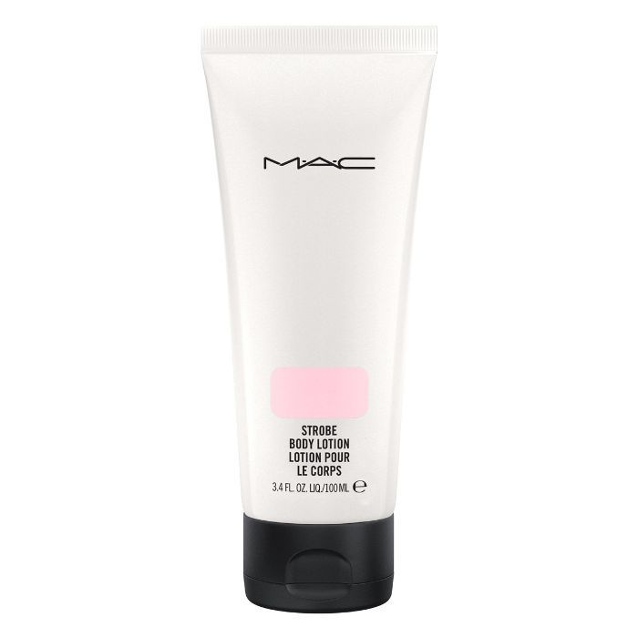 how to prep legs for summer: MAC strobe body lotion