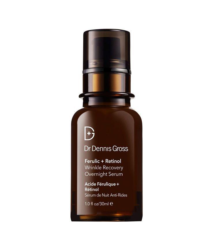 Best Night Serum: Dr Dennis Gross Ferulic and Retinol Wrinkle Recovery Overnight Serum