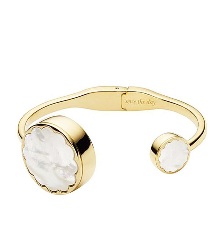 Fitness gifts for her: Kate Spade Scallop Bangle Tracker