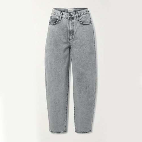 Balloon High-Rise Tapered Jeans ($190)