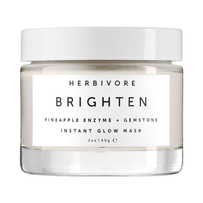 Brighten Pineapple Enzyme + Gemstone Instant Glow Mask 2 oz/ 60 mL