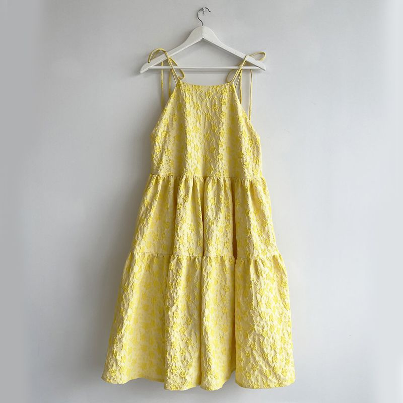 Yellow Cece Dress