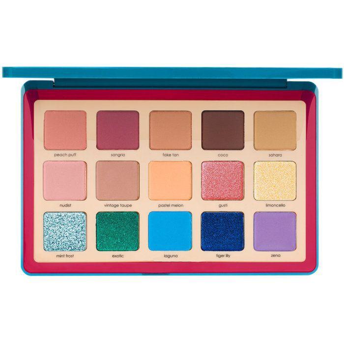 Tropic Eyeshadow Palette 15 x 0.05 oz/ 1.5 g