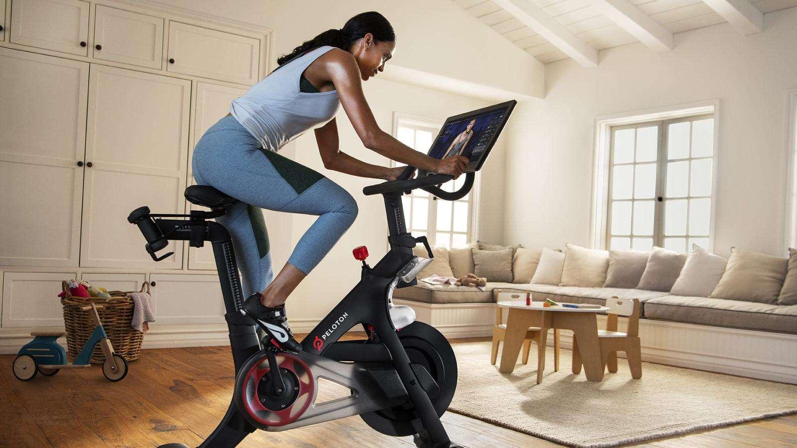 peleton spin bike