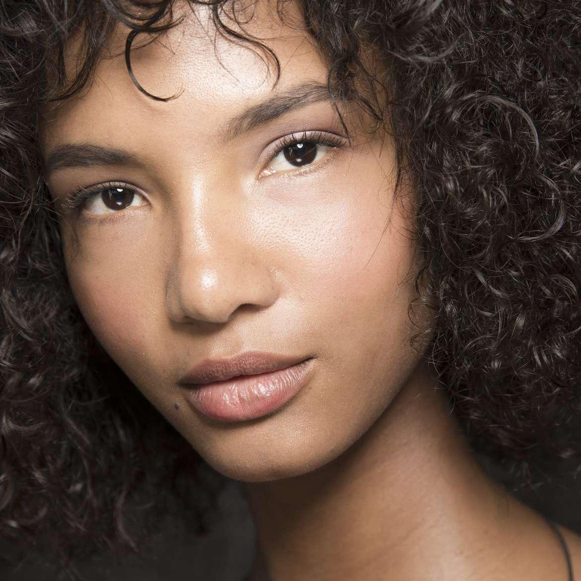 model no makeup