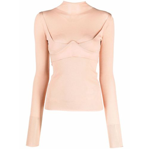 Dion Lee Molded Mesh Top