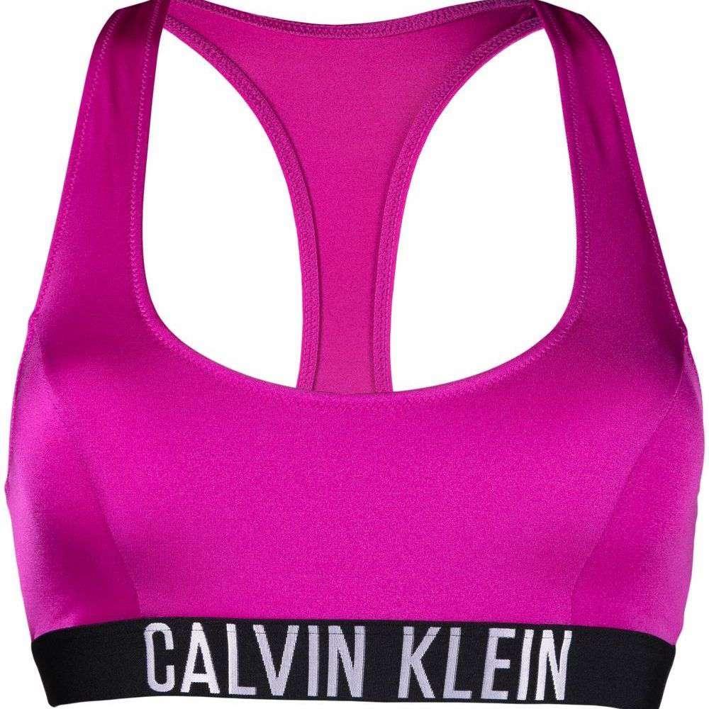 Calvin Klein Logo-Underband Bikini Bralette