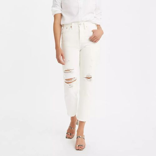 Levi's Wedgie Straight Jeans White