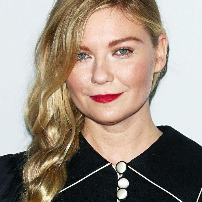 Kirsten Dunst long, loose, side braid