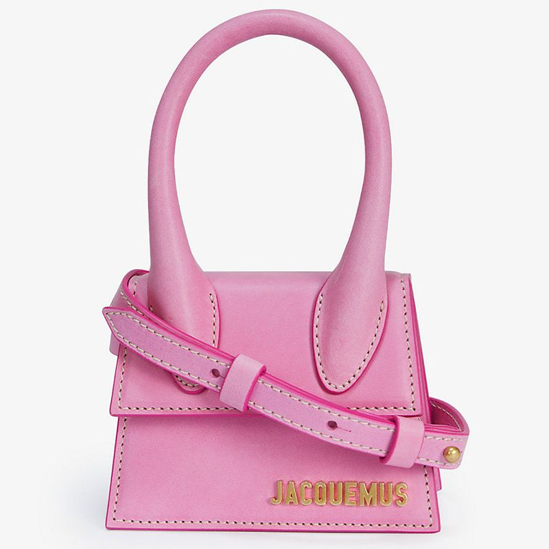 Le Chiquito Mini Suede Top Handle Bag
