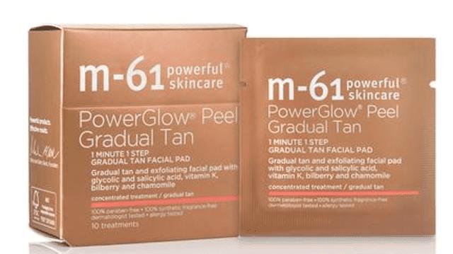 M-61 PowerGlow Peel Gradual Tan