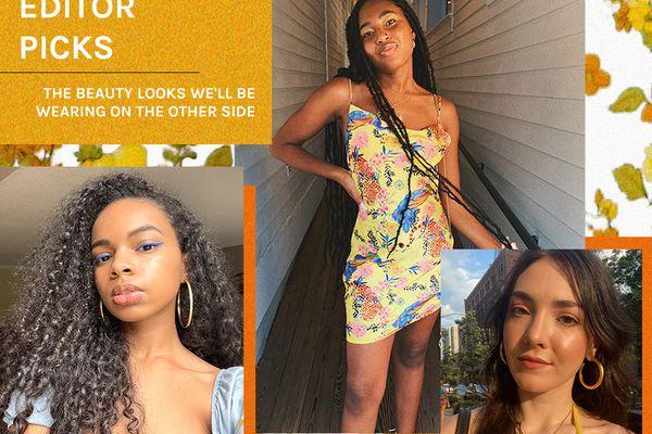 Byrdie editors' reentry beauty looks