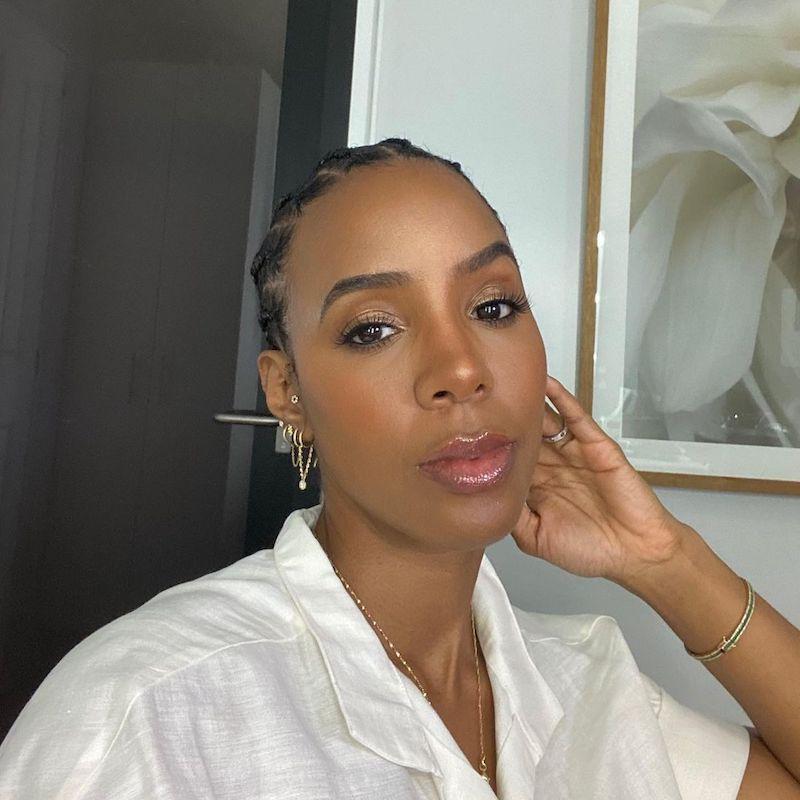 Cornrow Hairstyles Straight Back Simple Kelly Rowland