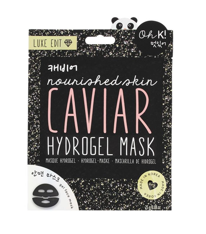 Amino Acids for Skin: Oh K! Hydrogel Caviar Face Mask