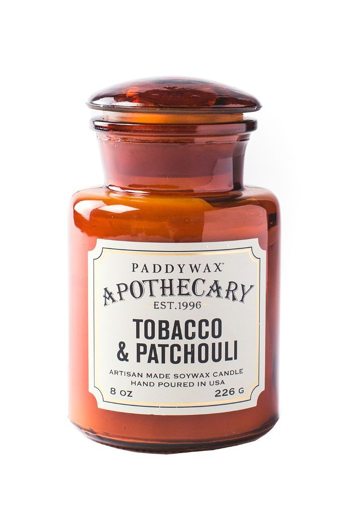 Paddywax Apothecary Candle in Tobacco and Patchouli