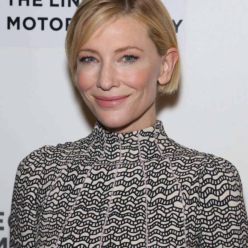 Cate Blanchett French bob