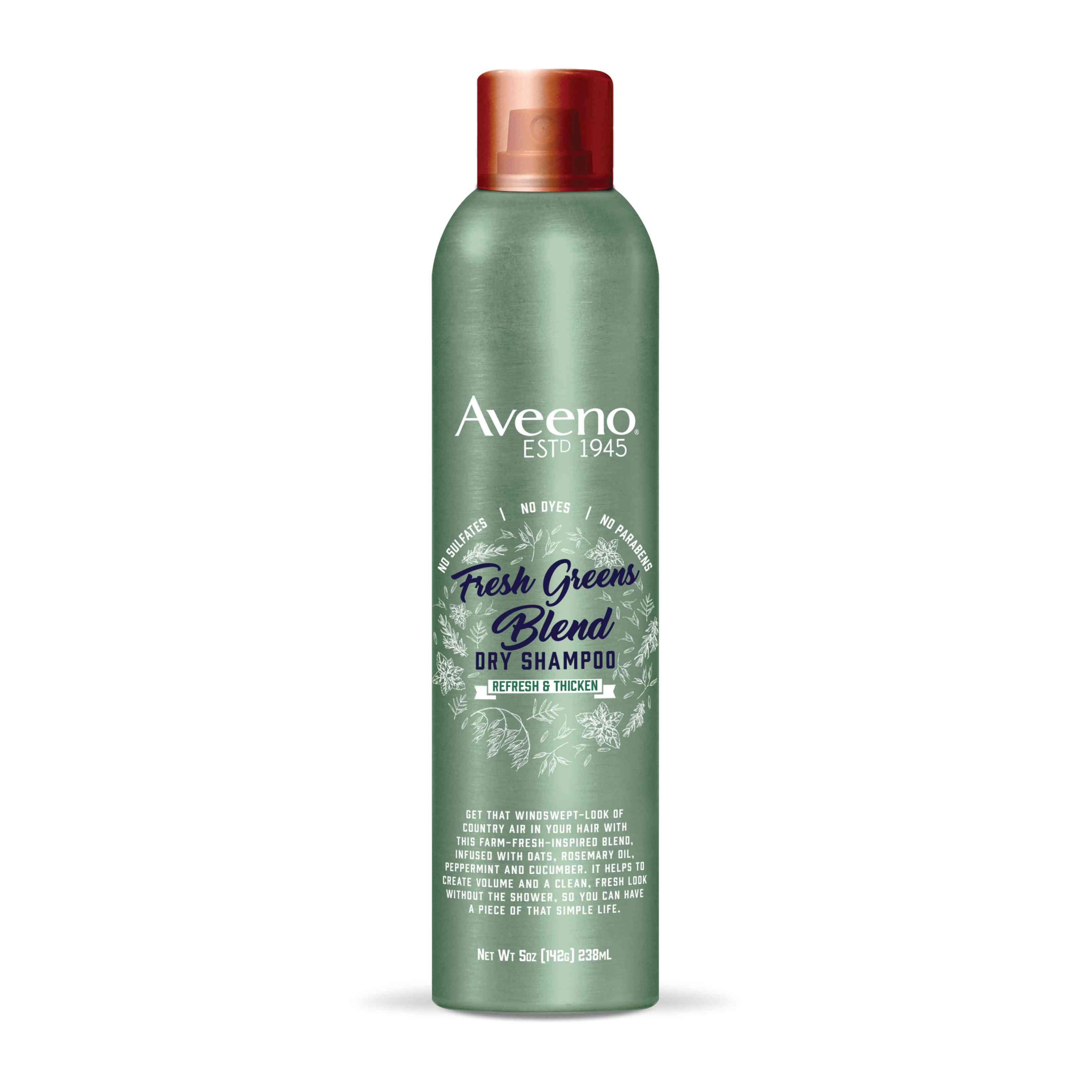 Aveeno Fresh Greens Dry Shampoo