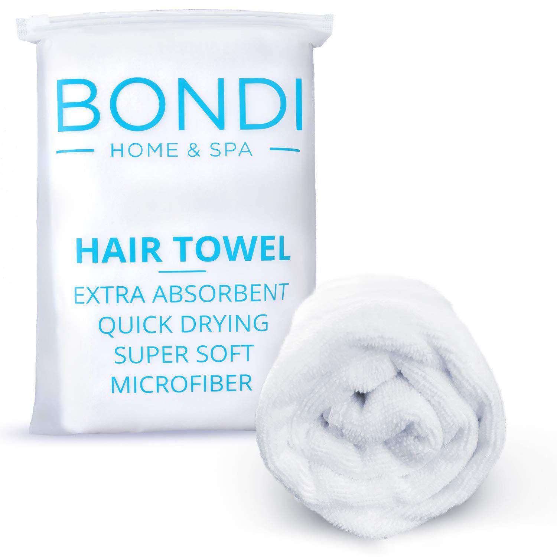 Bondi Home & Spa Microfiber Hair Towel