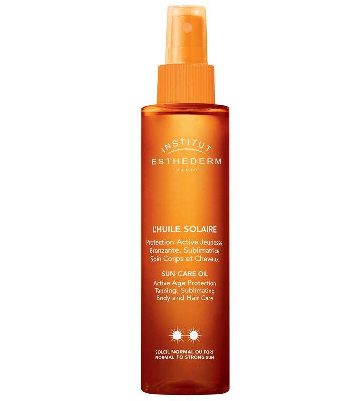 Best SPF Hair Mist: Institut Esthederm Sun Care Oil