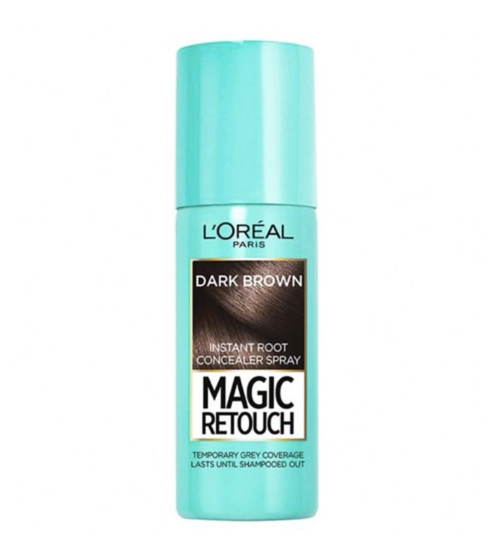 Root touch up: L'Oreal Magic Retouch Dark Brown