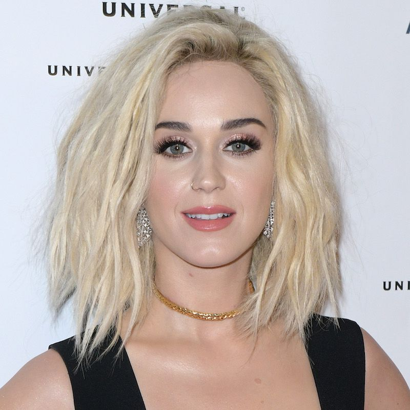 White Blonde Hair Katy Perry