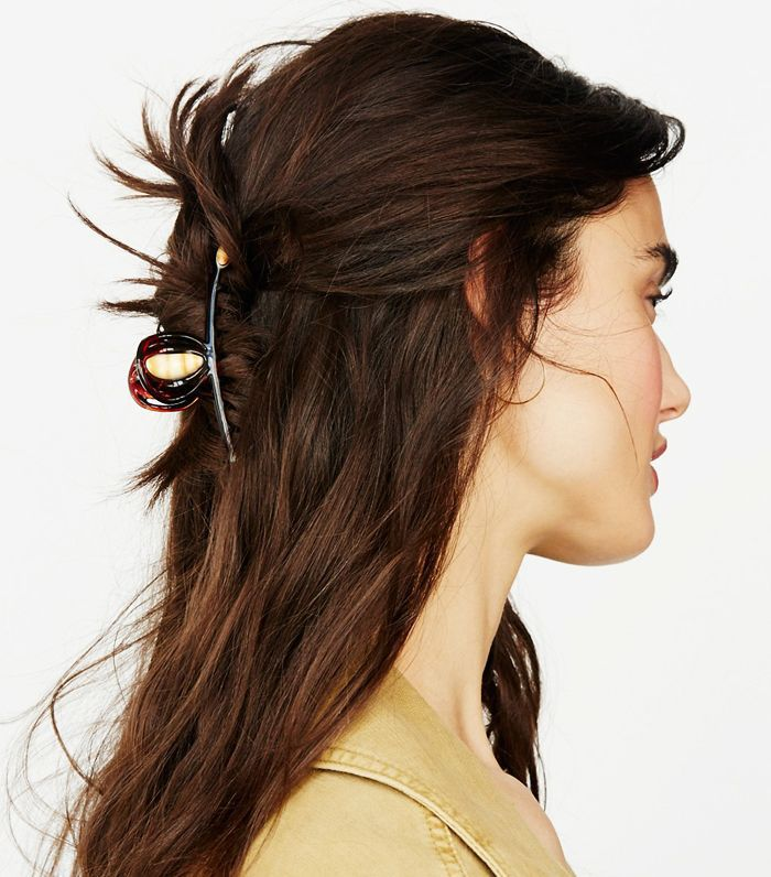 Half up hairstyles: Free People Fine Hair Claw