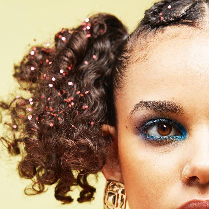 hair glitter ideas