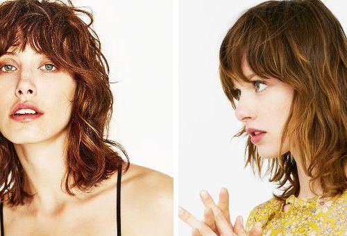 Mullet haircut: models at Zara and Mango