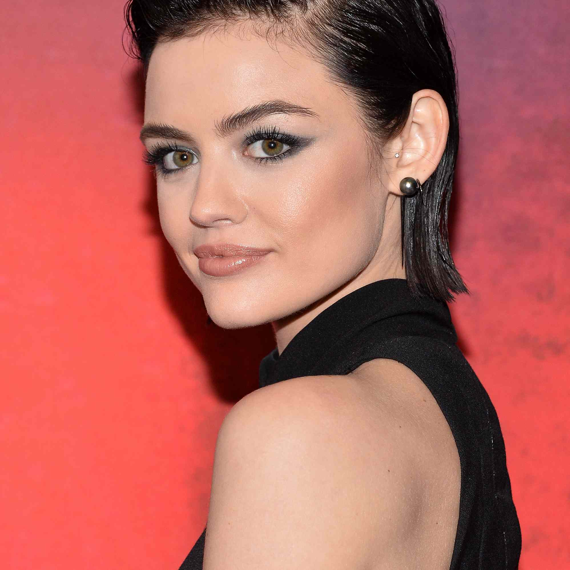 Lucy Hale Prom Hair