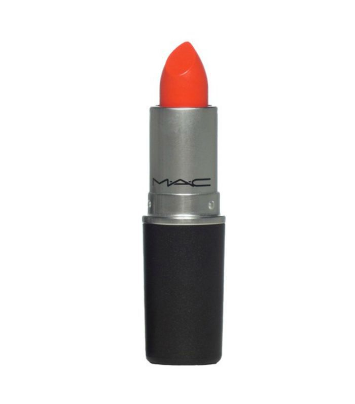 mac lipstick: Amplified lipstick in morange