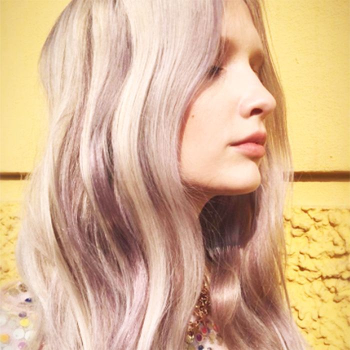 Bright Pastel Hair Isn't Cool Anymore, But This Color Is - Violet Ice Hair