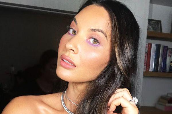 Olivia Munn VMAs 2018 makeup