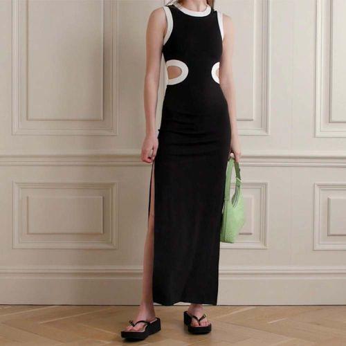 Dolce Waist-Cutout Maxi Dress ($275)