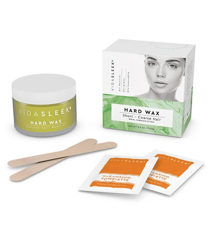 VidaSleek Hard Wax Kit: Face, Underarms & Bikini