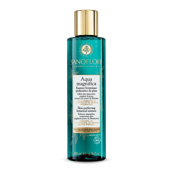 best selling beauty products: Sanoflore Aqua Magnifica Skin-Perfecting Botanical Essence