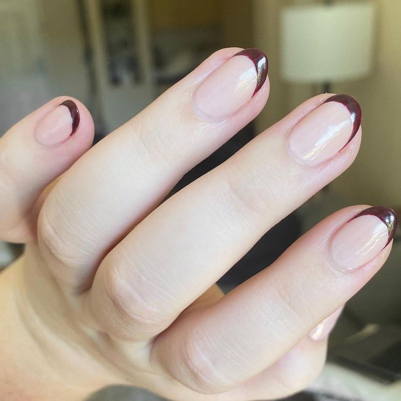 Simple Nail Designs Tiny French