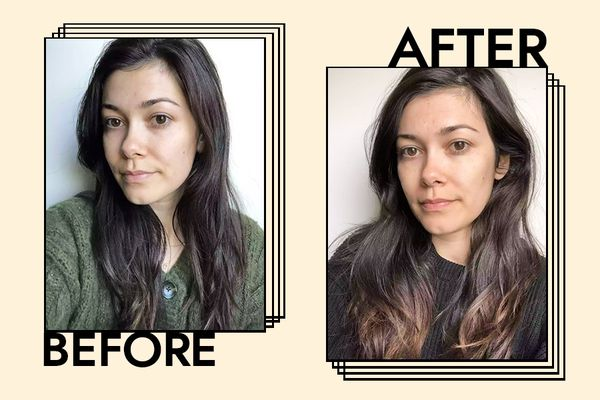 CHI Keratin Shampoo and Conditioner Results on Ashley Rubell