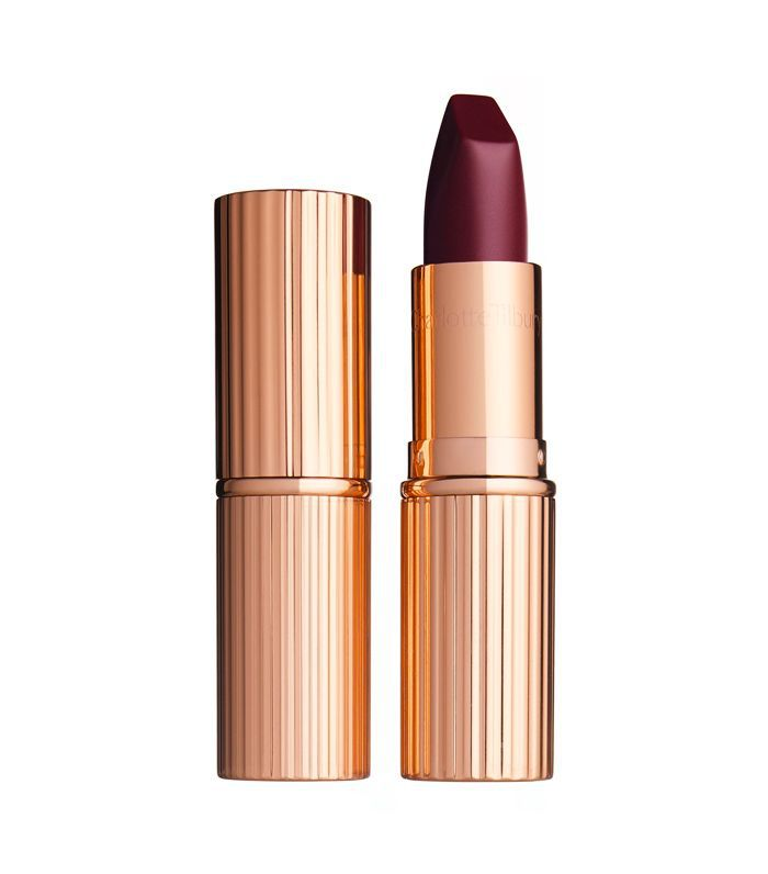 best dark red lipstick: Charlotte Tilbury Matte Revolution in Glastonberry