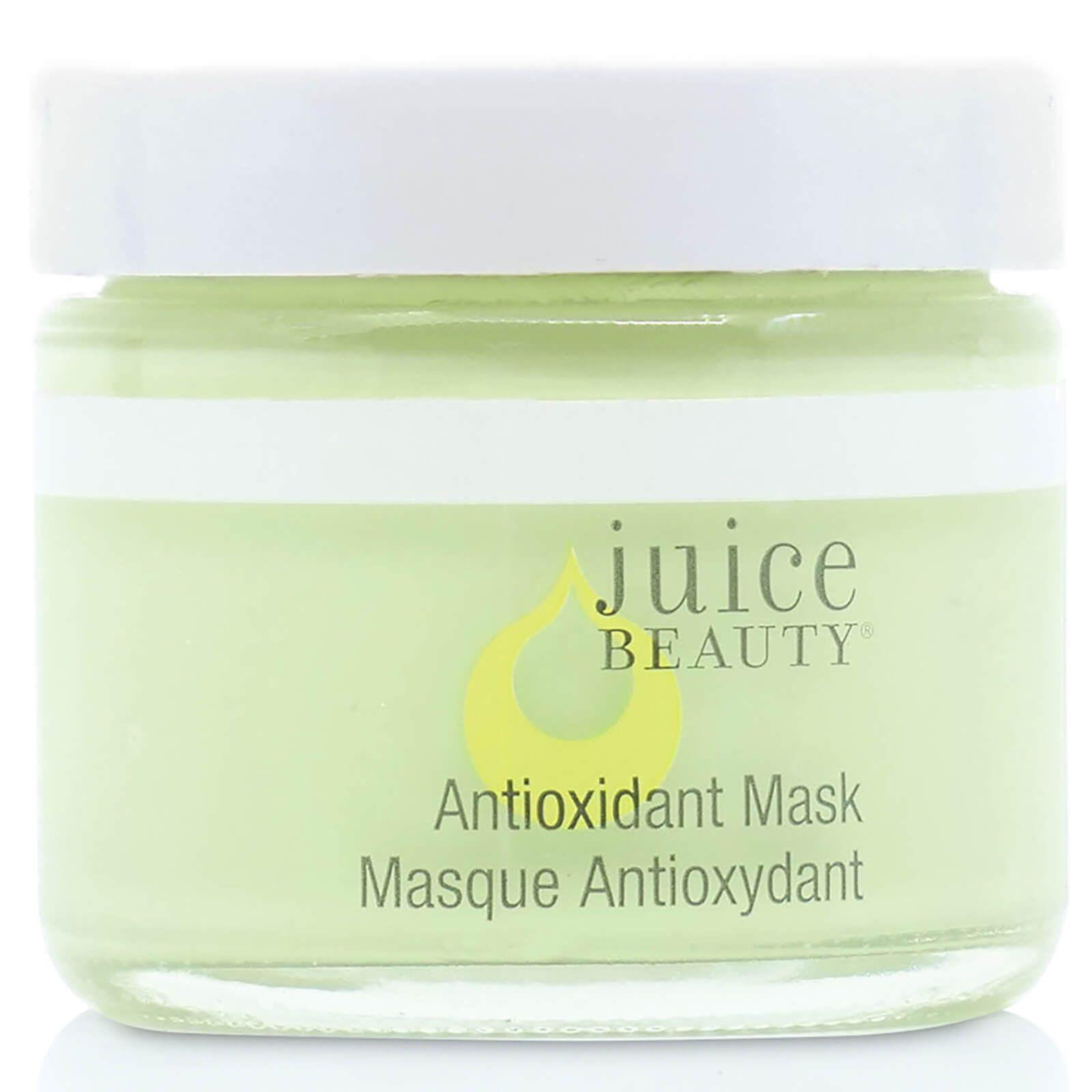 antioxidant mask in a jar, it's green