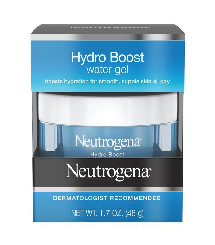 A box of Neutrogena Hydro Boost Water Gel Moisturizer at Target.