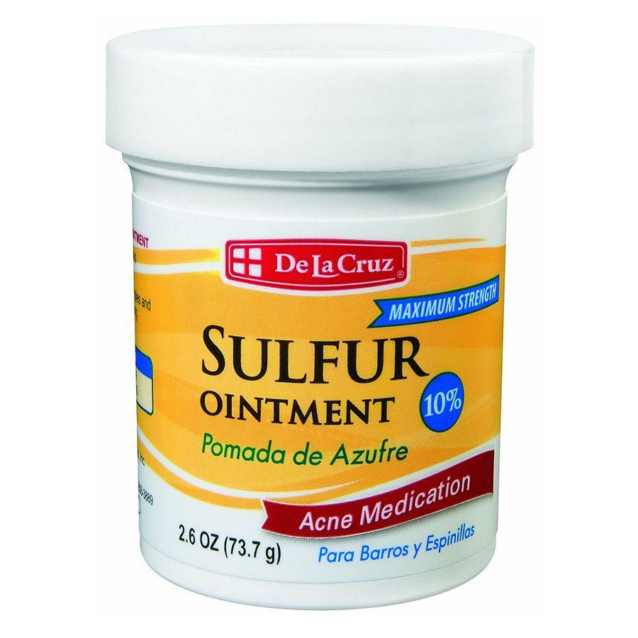 de la cruz sulfur ointment