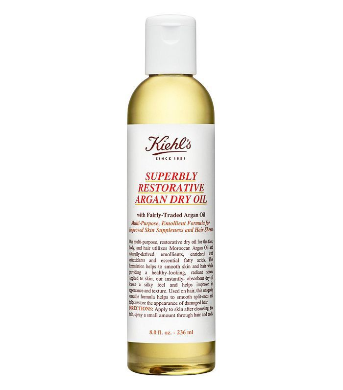argan oil for face: Kiehl's Superbly Restorative Argan Dry Oil