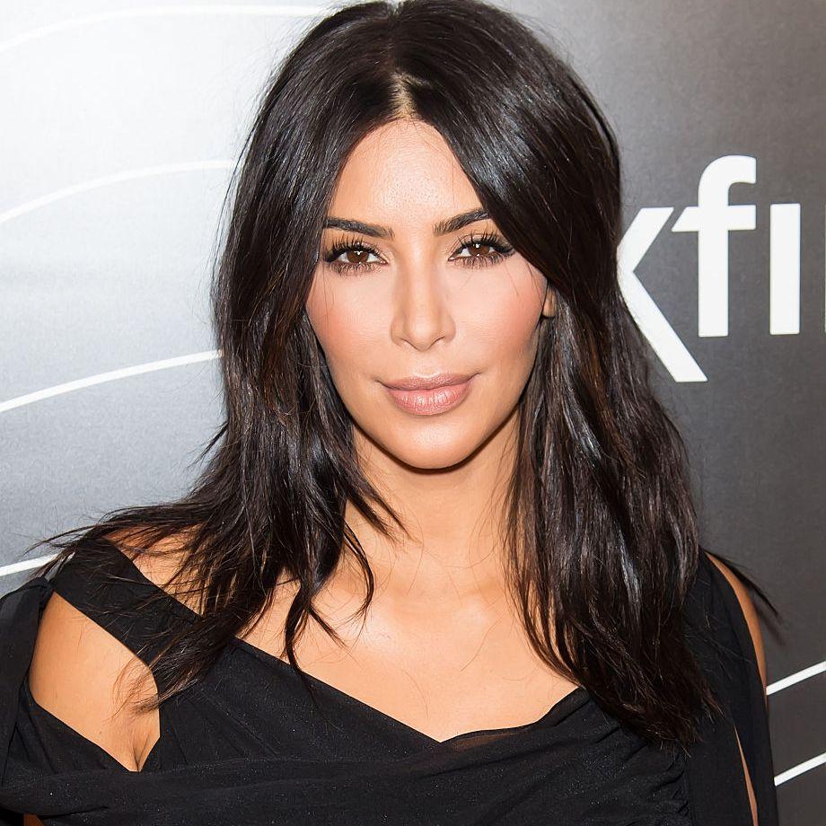Kim Kardashian long, sexy layers